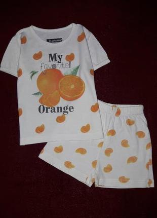 Комплект шорти та футболка