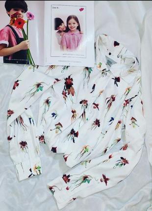 Рубашка з орхідеями