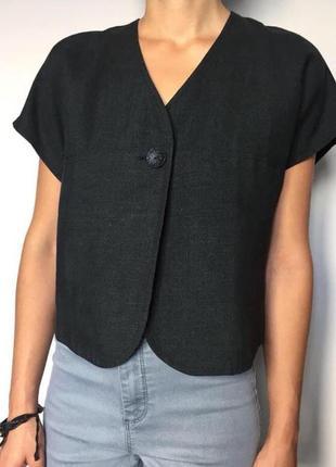 Блуза натуральный лён