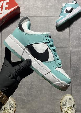 Nike sb dunk white mint кроссовки 😎