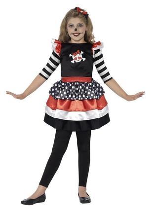 Пиратка 4-6 лет костюм карнавальный
