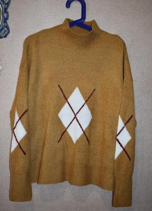 Оверсайз свитер