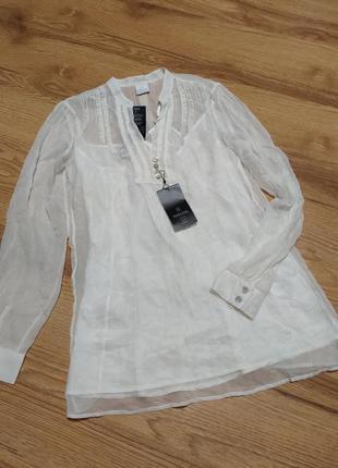 Натуральный шелк блуза