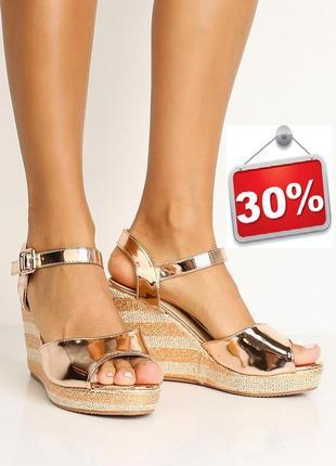 Розпродаж!!! 2 останні розміри! босоніжки бренду asos. знижка -30%