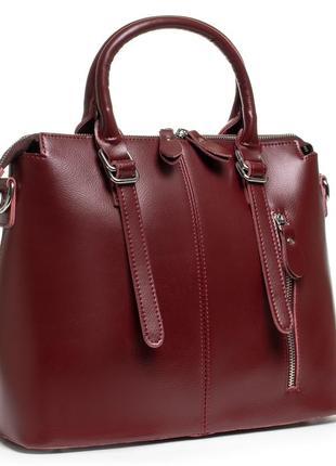 Женская кожаная сумка из натуральной кожи жіноча шкіряна на плечо шопер шоппер кожаный на плечо