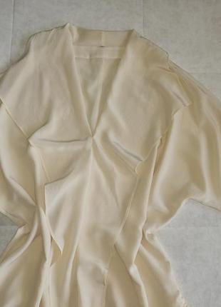 Шелковая блуза рубашка 100% натуральный шелк