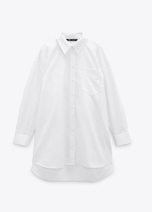 Рубашка женская оверсайз oversize zara
