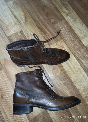 Ботинки демисезонные jane shilton р.38-39