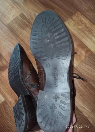 Ботинки демисезонные jane shilton р.38-395 фото