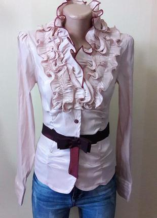 Новая блузка размер м цвет пудра