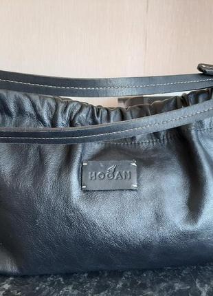 Кожаная сумка hogan tod's италия