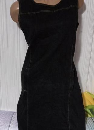Класснючий джинсовый сарафан размер м