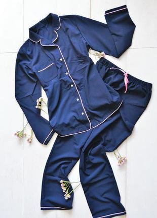 Нежный комплект-пижама для дома и сна