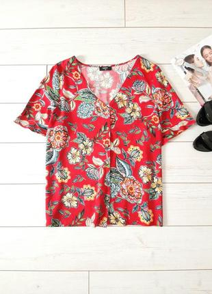 Стильная летняя блуза _вискоза_красивая расцветка