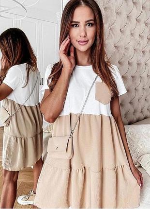 Новое женское стильное платье