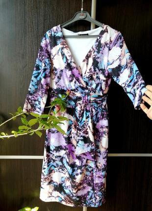 Шикарное супер платье сукня цветы с переливом и блеском. kaleidoscope