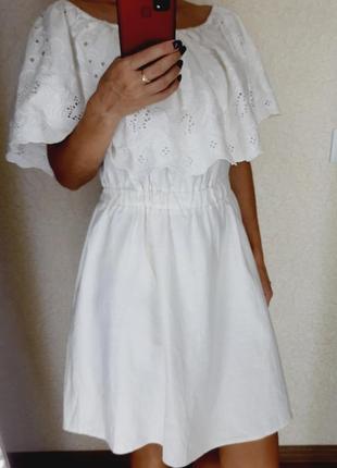 Шикарна сукня з вишивко льон💖💖💖