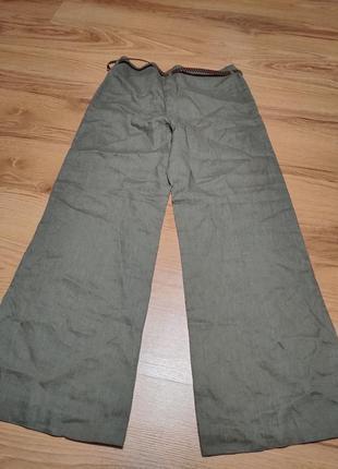 Льняные бюки плаццо от h&m2 фото