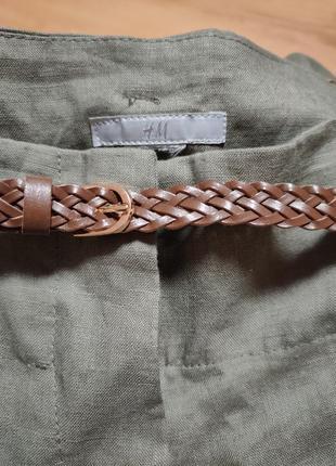 Льняные бюки плаццо от h&m3 фото