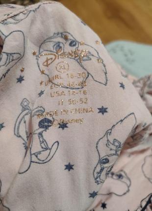 Шикарная легкая пижамка дисней5 фото