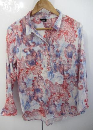 Новая цветная рубашка. распродажа.