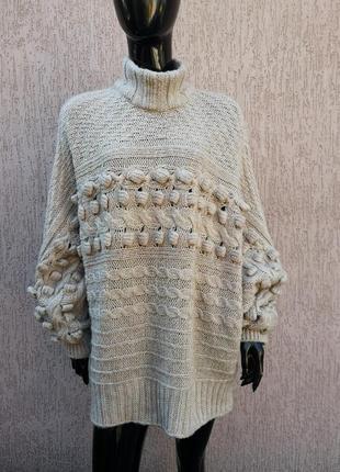 Чудесный свитер светр батал george