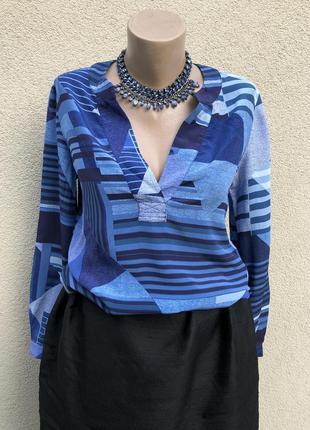 Блуза удлинён.спинка,рубаха100% шёлк,люкс бренд,оригинал,дизайнер diane von furstenberg