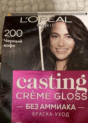 Краска для волос casting l'oréal тон 200