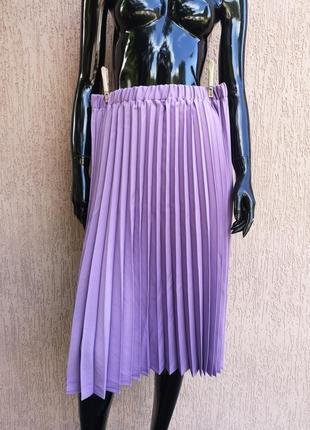 Спідниця юбка плисе батал uk 20 damart