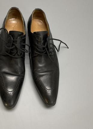 Туфли кожаные john foster, качественные