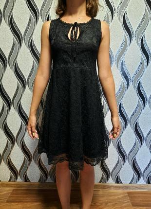 Новое женское чёрное платье
