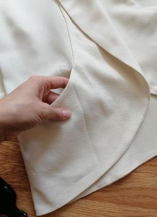 Женский строгий нарядный брендовый белый кремовый молочный жакет блейзер пиджак new look - р 42-444 фото