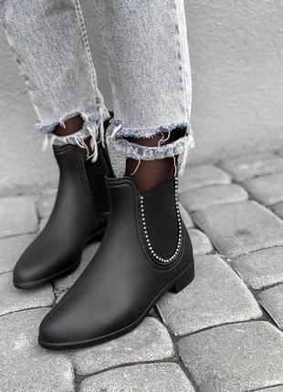 Резиновые ботинки от дождя / силиконовые сапоги