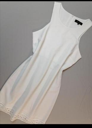 🍉 платье мини белое