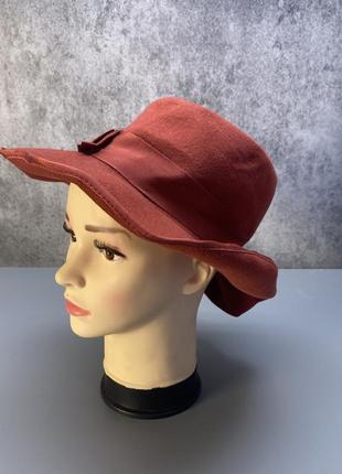 Шляпка стильная british hat guild, england, фетровая