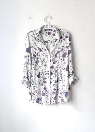 Красивая вискозная рубашка