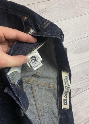 Джинсовые шорты diesel indigo3 фото