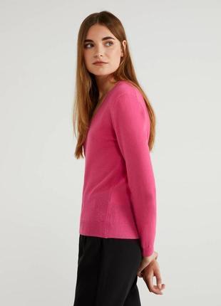 Кашемировый cashmere джемпер united colors of bennetton