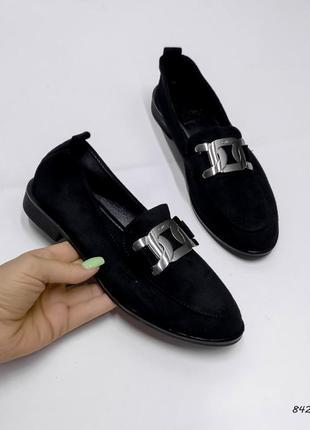 Женские туфли, туфли , туфли на низком каблуке, 842