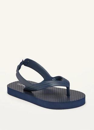 Темно-сині дитячі в'єтнамки (flip-flop) олд неві для хлопчика