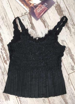 Cc чудесная оригинальная черная блуза