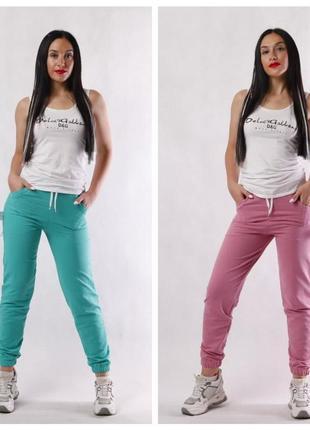 Стильные женские штаны джогеры