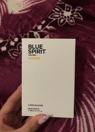 Blue spirit zara men