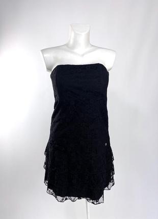 Платье эксклюзивное love japan, черное