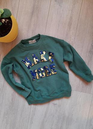 Свитшот zara 6  лет детская одежда