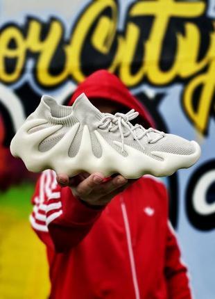Кроссовки женские adidas yeezy 450 cloud white