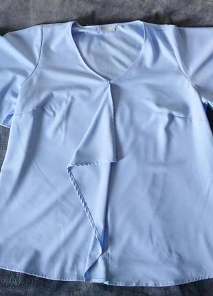 Блуза , рубашка janina, 50р.