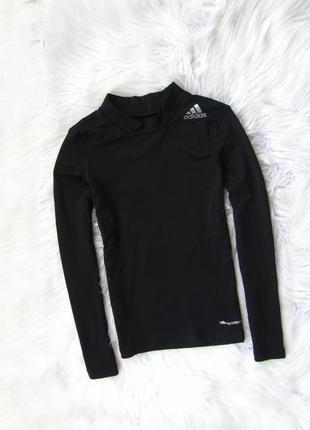 Спортивная компрессионная термо кофта свитшот adidas climawarm techfit