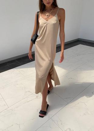 Платье шёлковое 😍