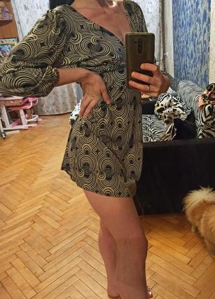 Платье сарафан мини